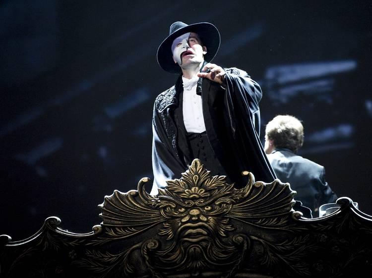 The Phantom of the Opera has been postponed until 2022