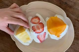 Daiwa Nakameguro fruit sanwiches