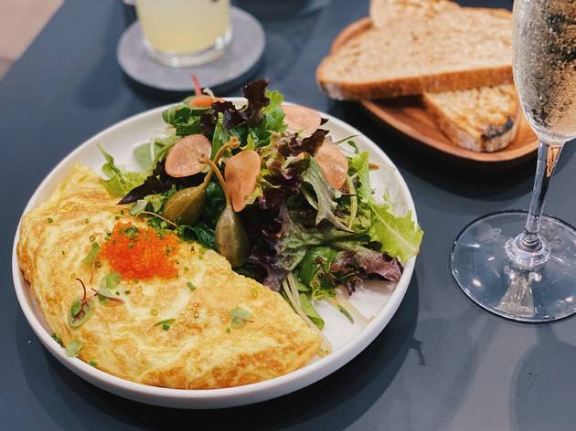 Slate Side Ways Omelette