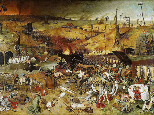 """The Triumph of Death"", Bruegel (1562)"