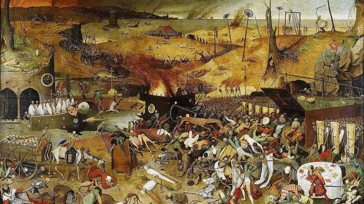 """The Triumph of Death"", Bruegel (1562)"
