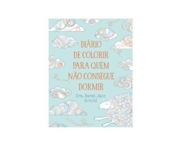 Diário de Colorir Para Quem não Consegue Dormir