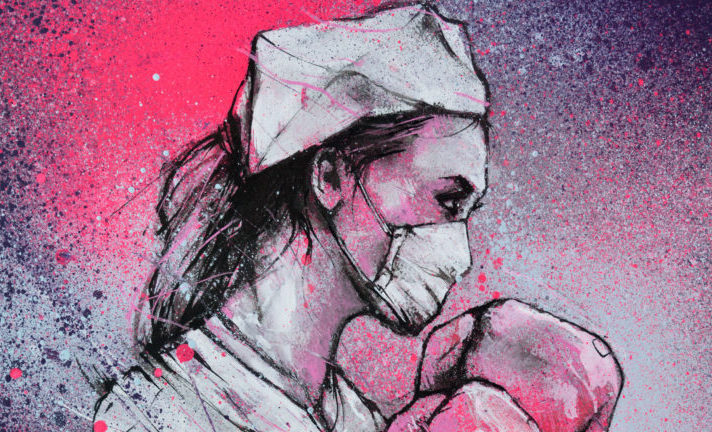 Plus de 100 street artistes vendent leurs œuvres au profit des hôpitaux