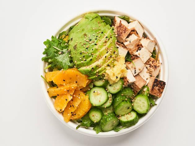 Plant Shop vegan bowl delivery