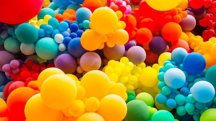 Balloons installation
