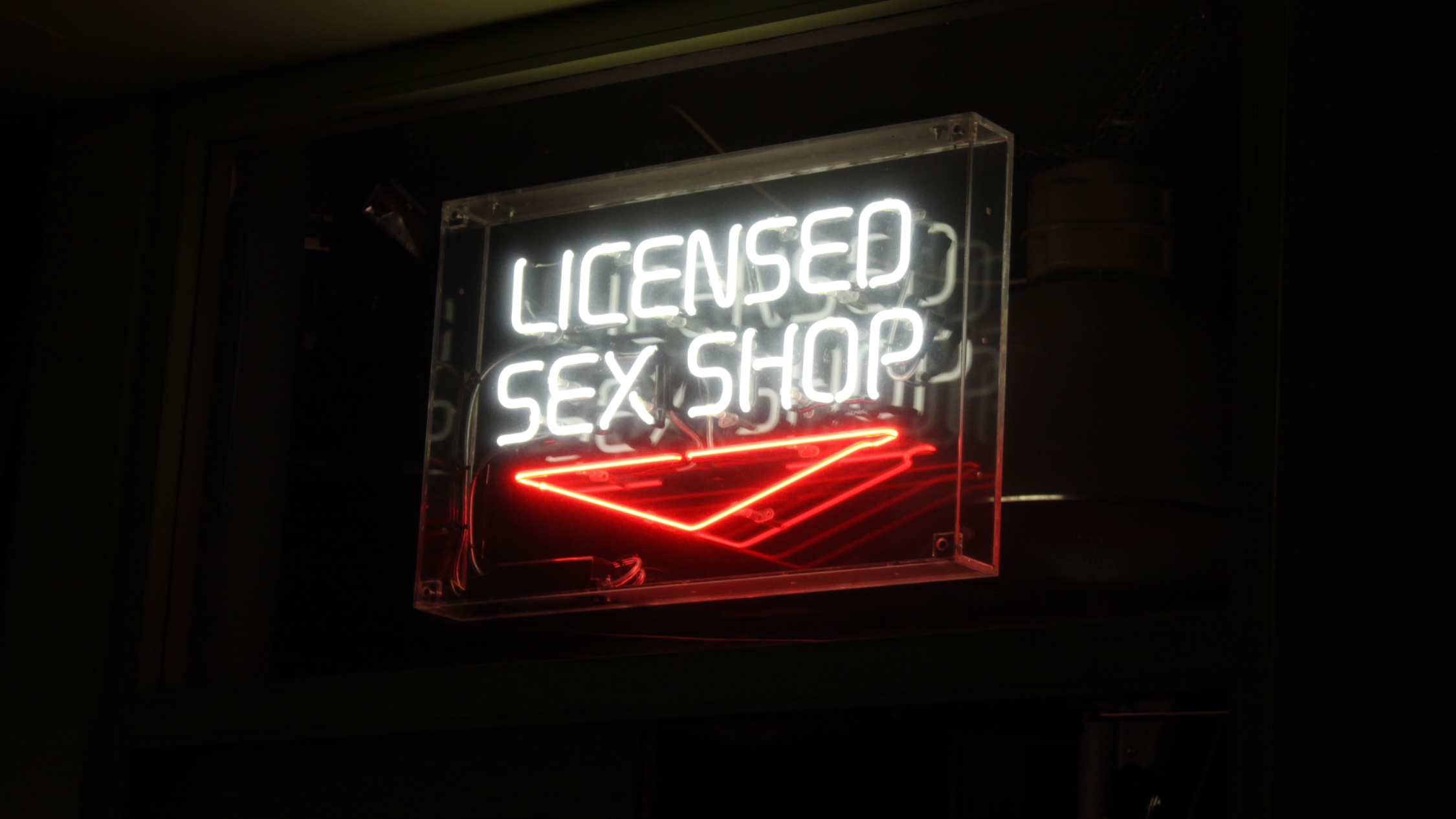 Sex store sign
