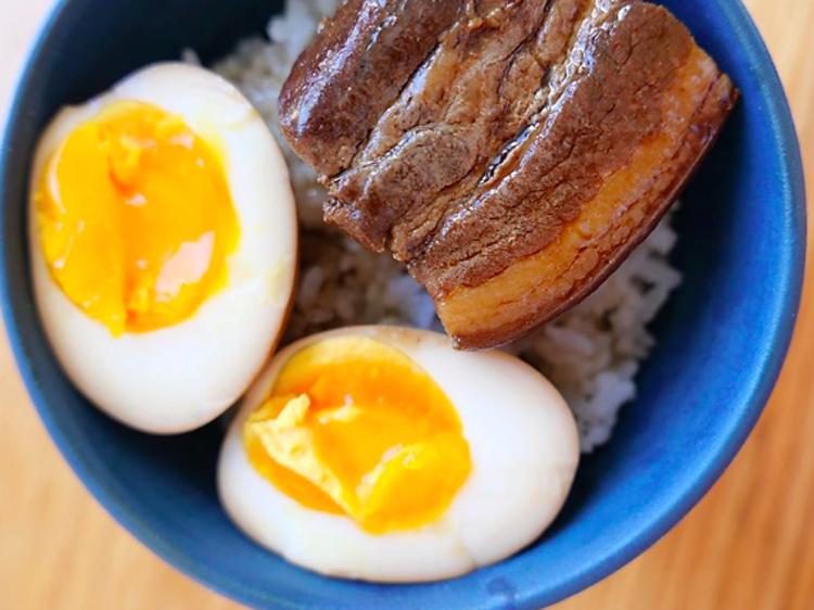 #FondDePlacard22 - Le porc Dongpo de Taku Sekine (Dersou, Cheval d'Or)