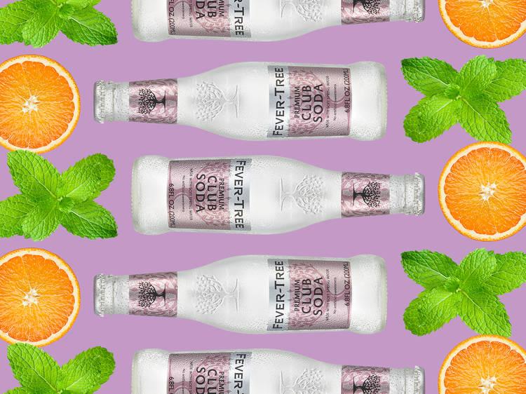 South Beach Vodka Soda Spritz