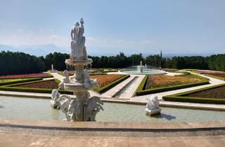 Jardín Italiano del parque temático Jardines de México