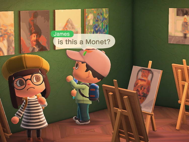 The Getty made a tool to help you build an art museum in 'Animal Crossing'