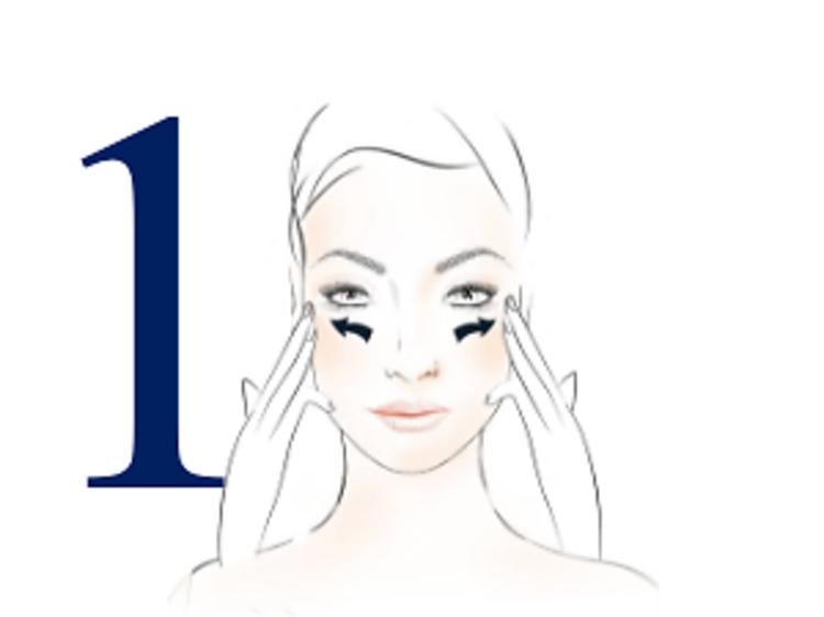 Gimnasia facial en tres pasos