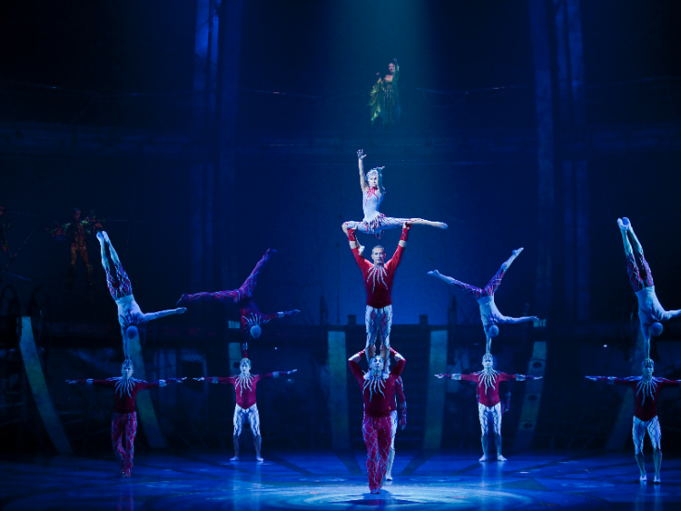 Gasp at the gravity-defying feats of Cirque du Soleil