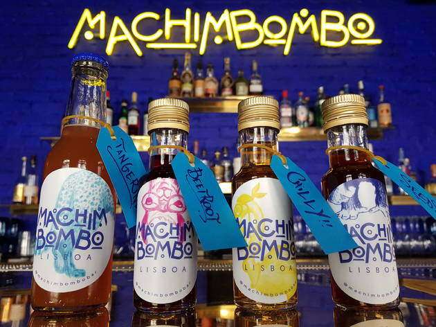 Machimbombo entrega cocktails ao domicílio