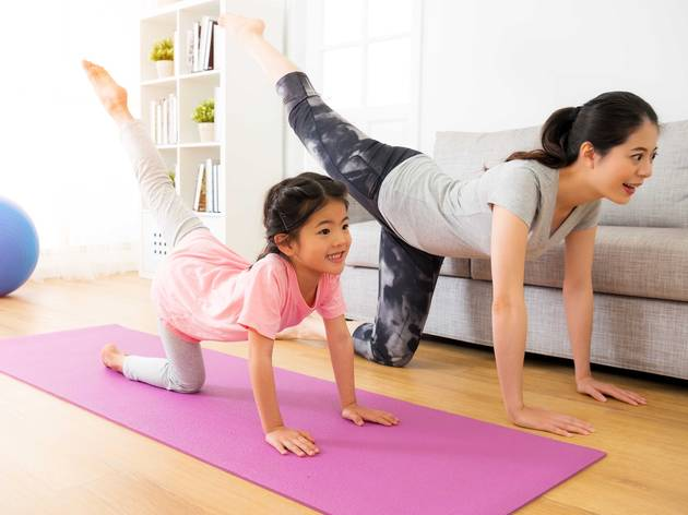 Fitness classes kids can try at home