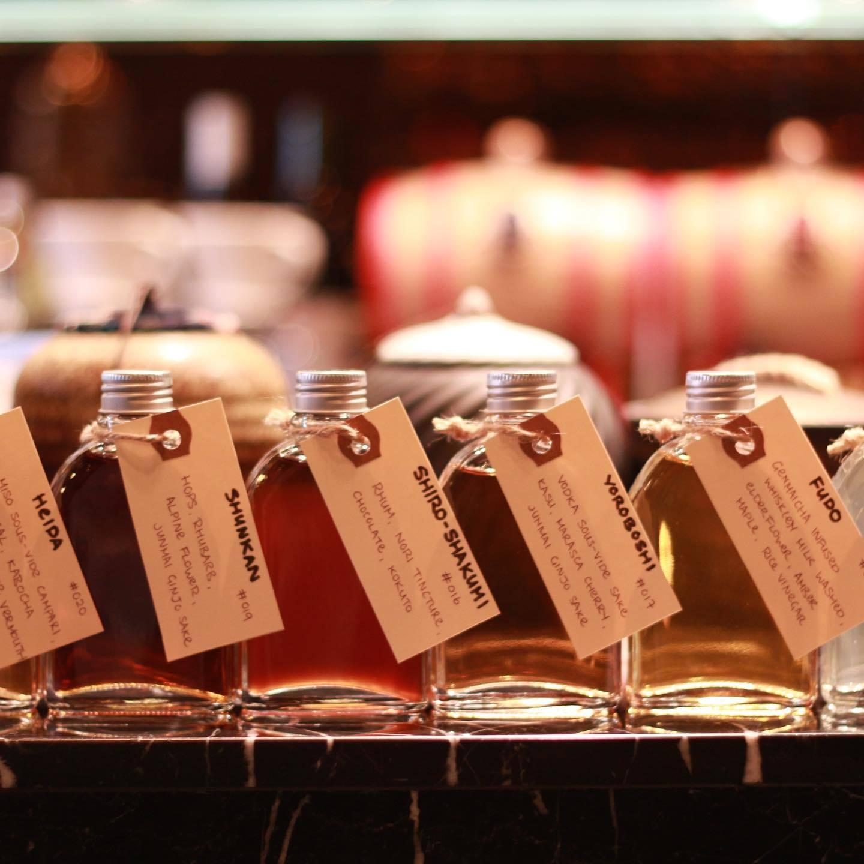 Gishiki Lounge bottled cocktails