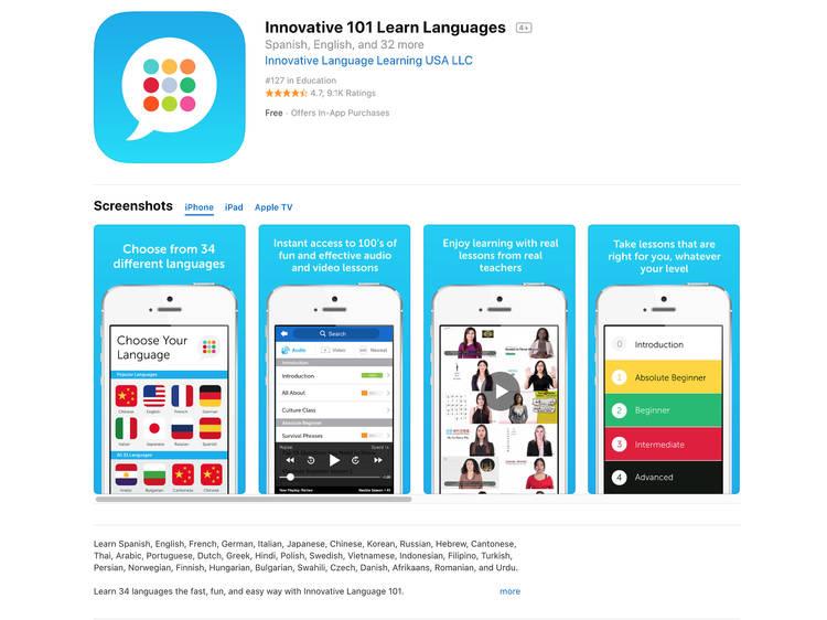 Innovative Language 101:跟老師線上交流
