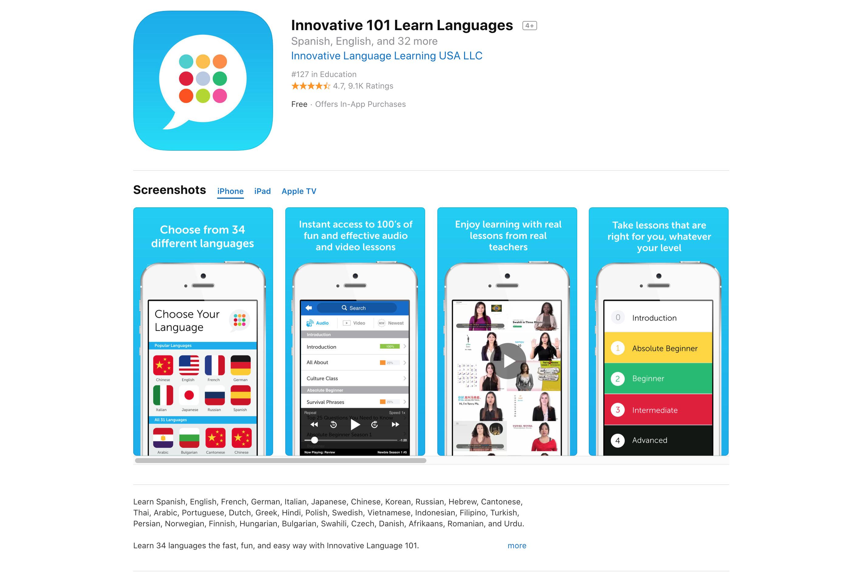 Innovative 101