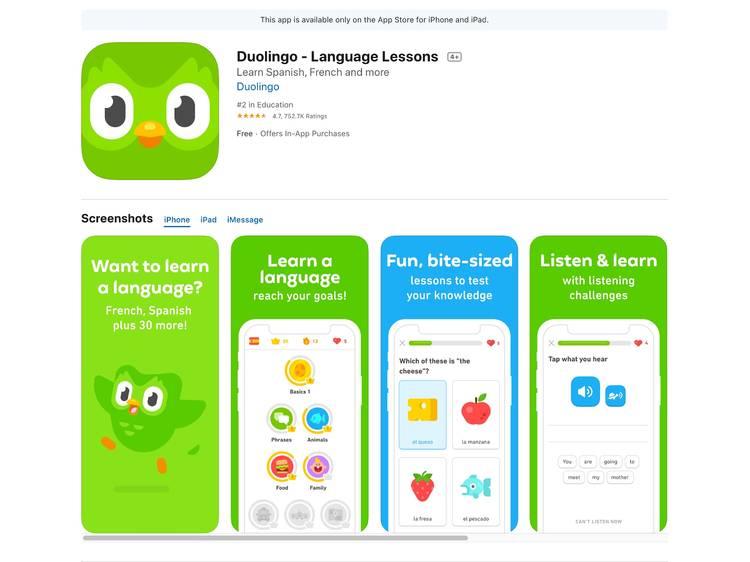 Duolingo:寓學習於遊戲