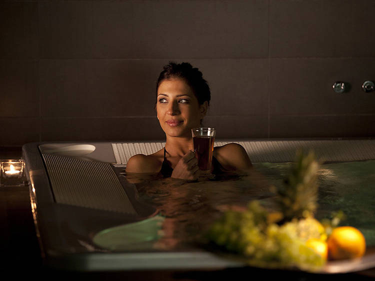Pamper yourself with spa treatments