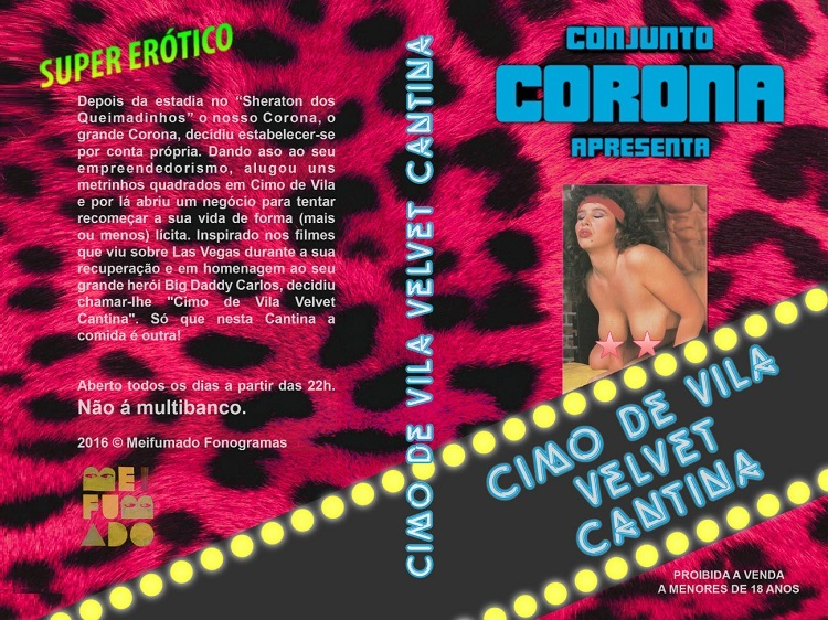 Conjunto Corona  - Cimo de Vila Velvet Cantina