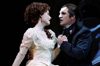 Christine and the Phantom embrace in 'Love Never Dies'