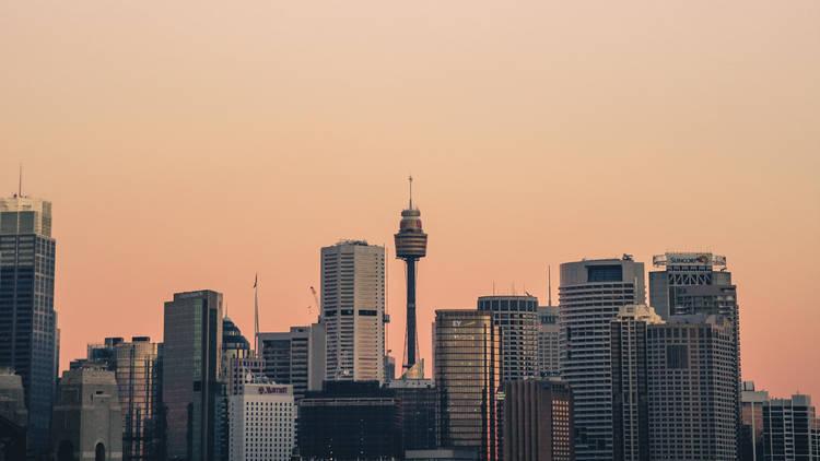 Sydney's city skyline