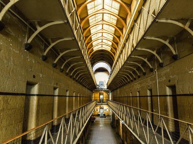 Interior gaol block at Old Melbourne Gaol