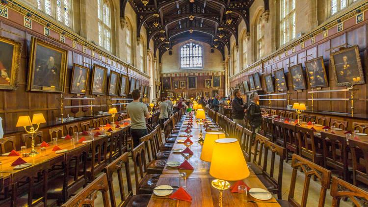 ¿El comedor de Hogwarts o el Christ Church de Oxford?