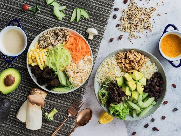 Best vegan and vegetarian delivery and takeaway in Hong Kong