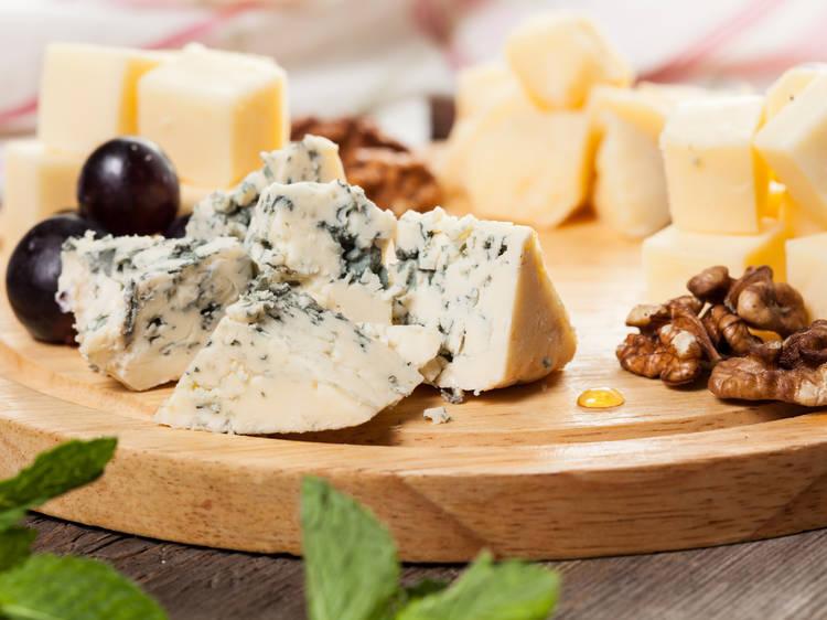 Montarte una tabla de quesos sensacional
