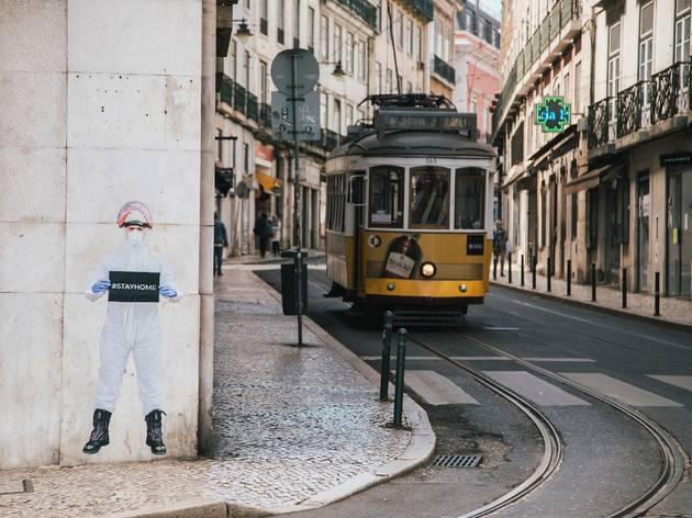 Arte, Fotografia, Street Art, Stay Home/Stay Safe, Salvador Colaço