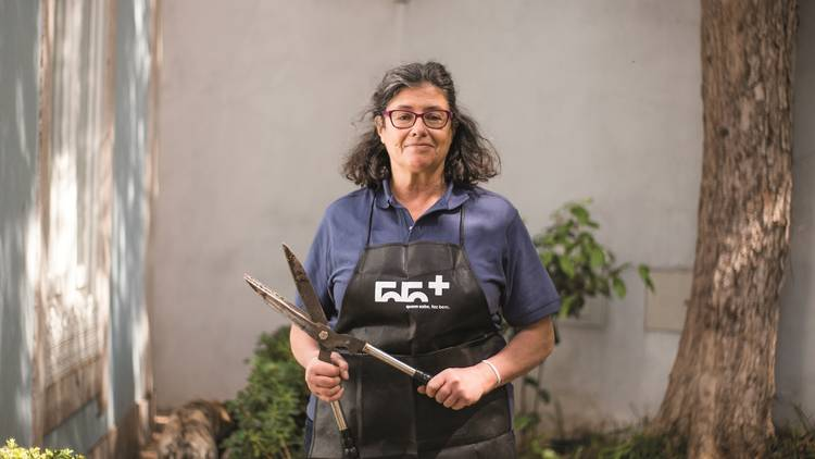 Aulas, Actividades, 55+, Jardinagem