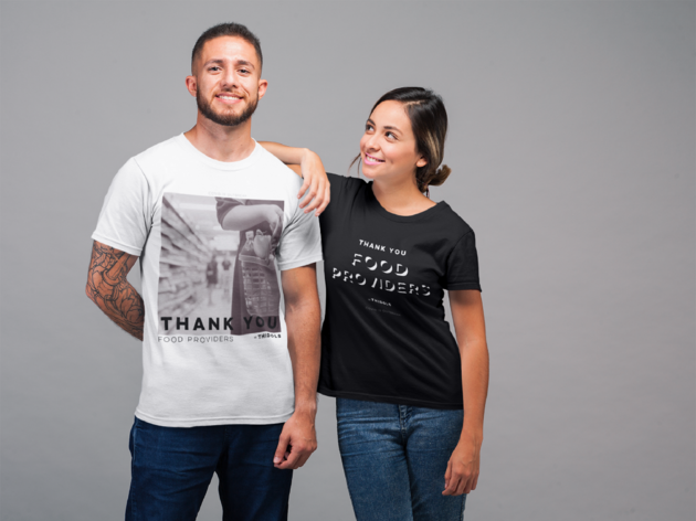 Compras, T-Shirt's, Thidols, Thank You Collection