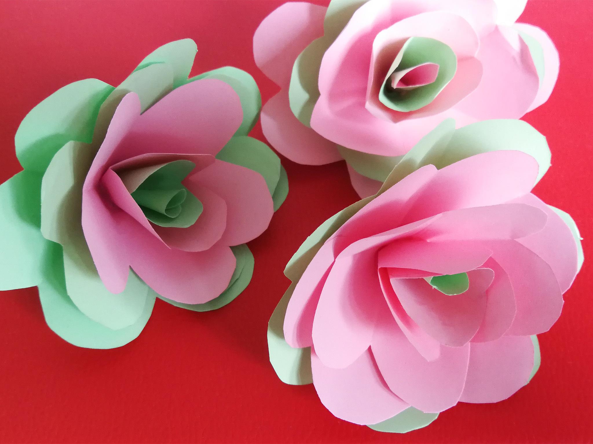 Cinc idees per fer una rosa de Sant Jordi a casa