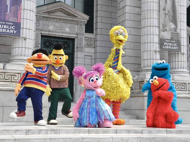 Online learning with Sesame Street