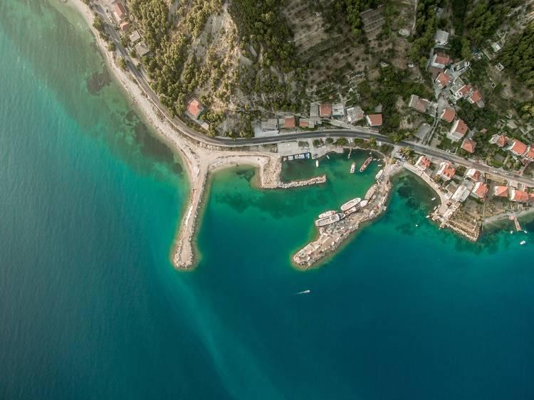 Spend the day on Bačvice beach