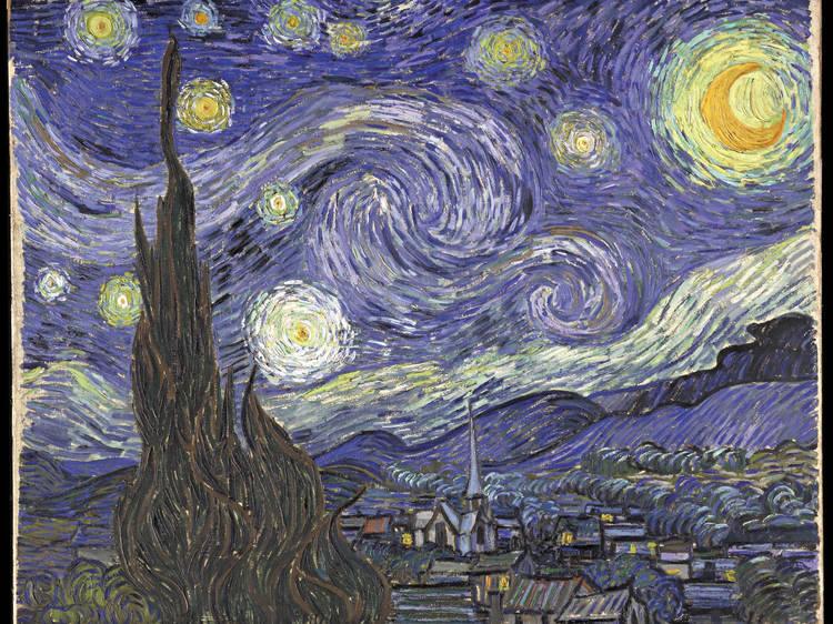 The starry night de Vincent van Gogh