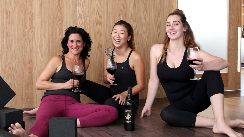 Virtual Yoga and Wine