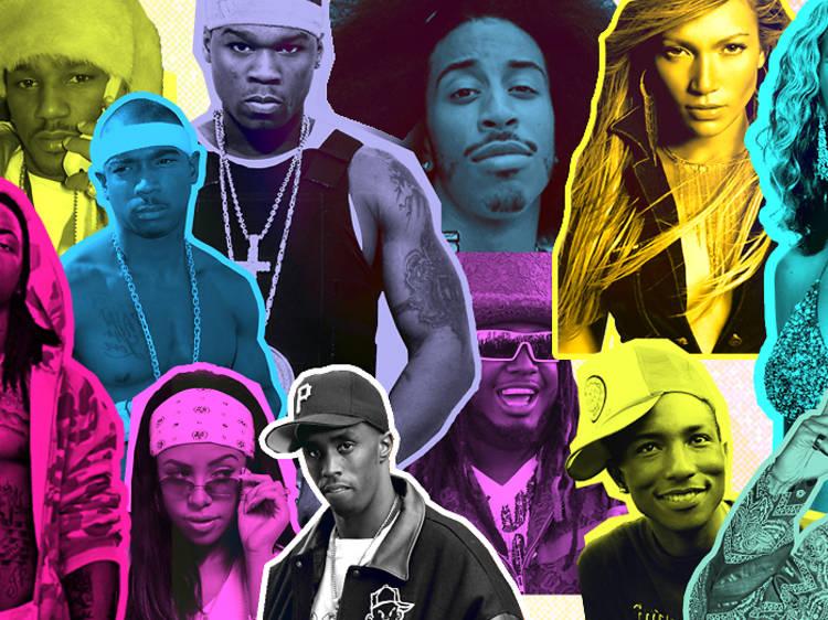 Voyager dans le temps avec une playlist rap et R&B old school