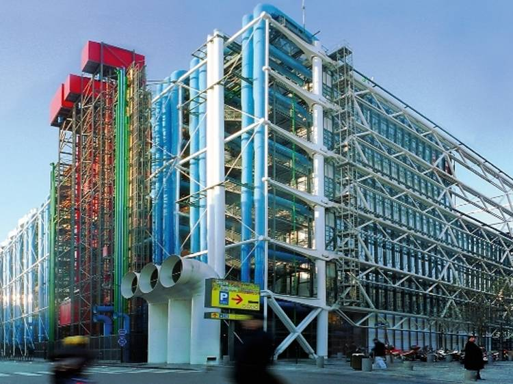Prendre un cours sur l'art moderne et contemporain au Centre Pompidou