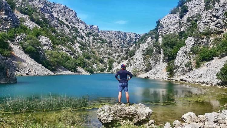 Naturel Zrmanja Trail, Zrmanja River Canyon in Zadar county