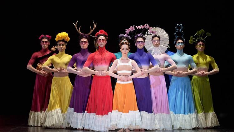 Escena del ballet Broken wings