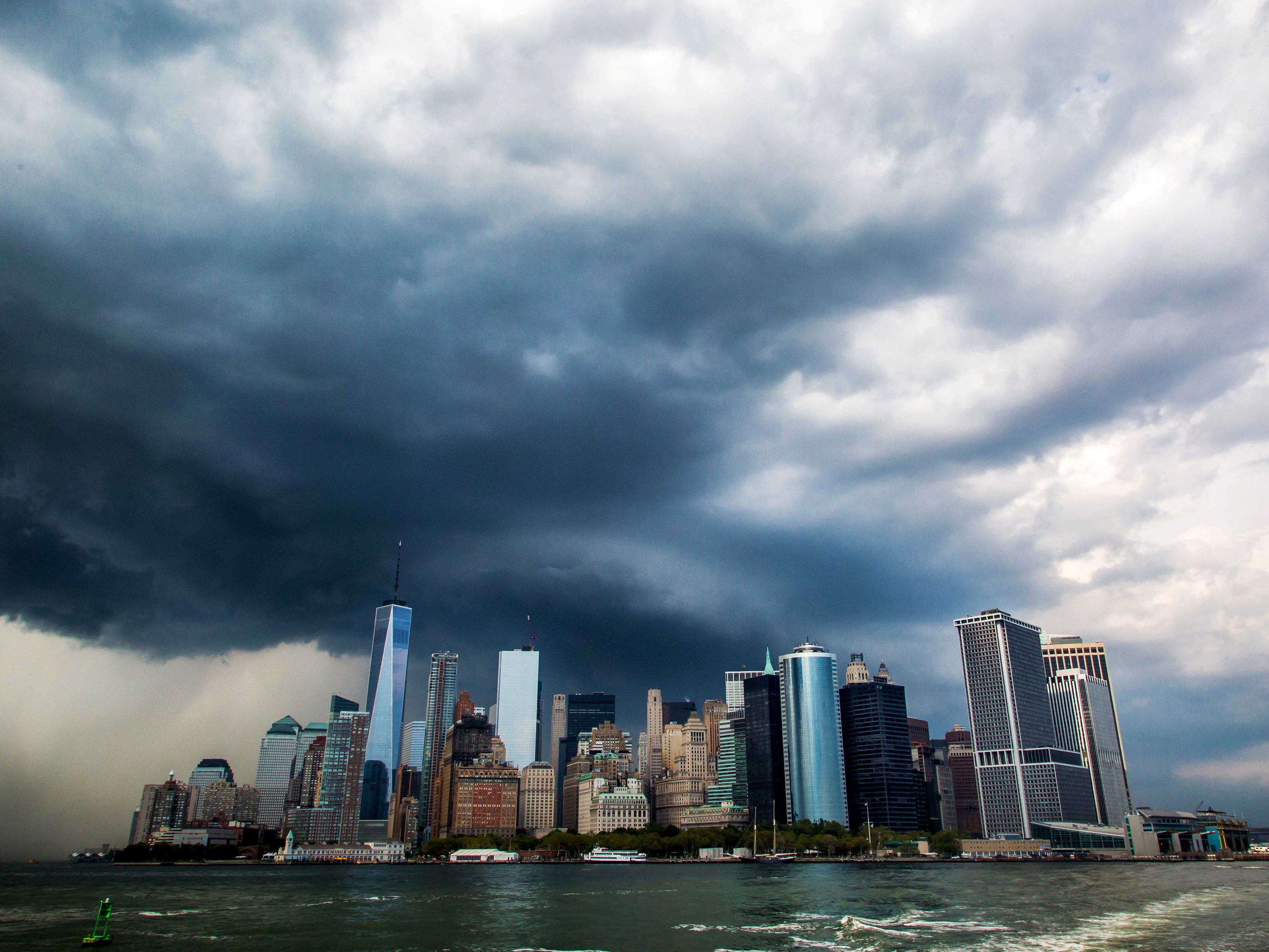 On Top Of Everything Else A Tornado Warning Was Issued For Nyc Today