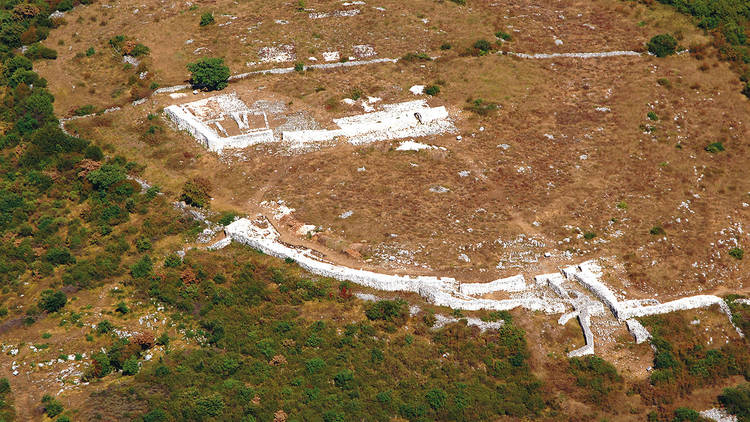 Monkodonja was home to a Bronze Age settlement and its ruins are located on a hilltop near Rovinj