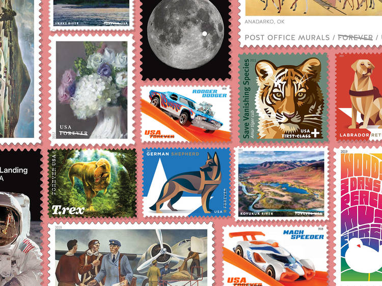 Unique stamps you can buy to help support the U.S. Postal Service