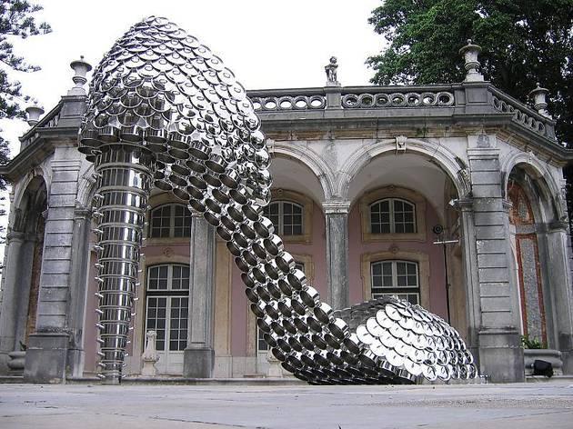 O famoso sapato de Joana Vasconcelos no Palácio de Belém