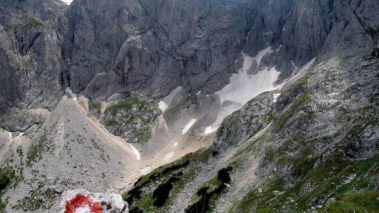 Trail in Croatia, Velebit mountain