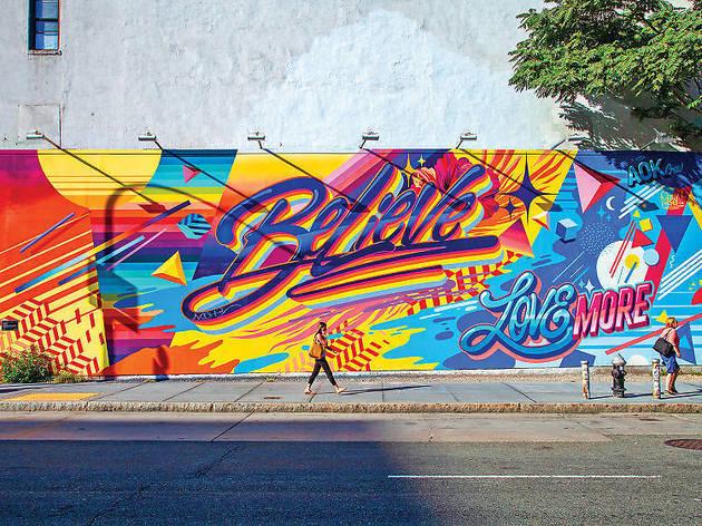 Viaja a las calles de Nueva York con este tour virtual de arte urbano