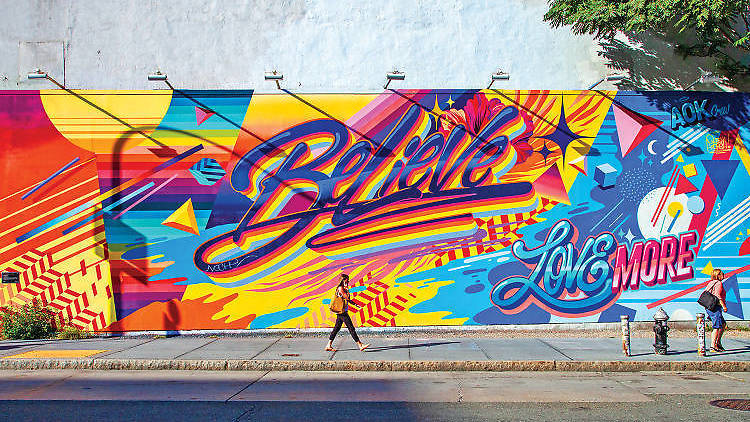 You can now take a virtual tour of NYC's best street art