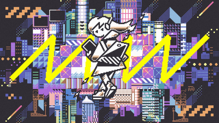 Shibuya Pixel Art 2020 / Art by m7kenji
